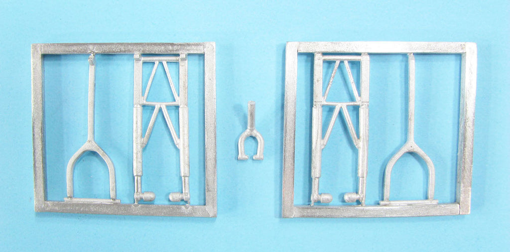 SAC 72115 Armstrong Whitley Landing Gear for 1/72nd Scale Airfix Model