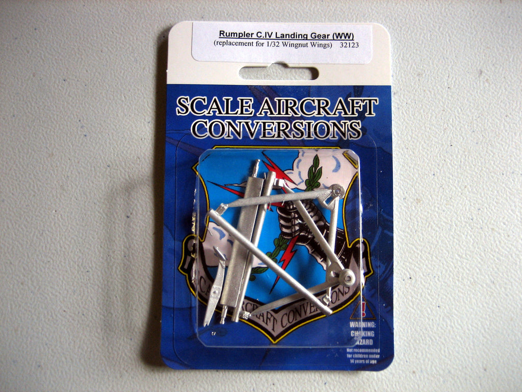 SAC 32123 Rumpler C.IV Landing Gear for 1/32nd Scale Wingnut Wings Model