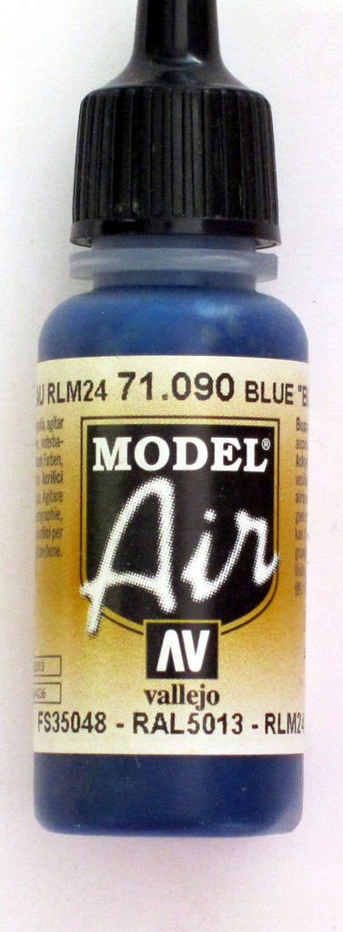 71090 Vallejo Model Airbrush Paint 17 ml Blue Angel Blue