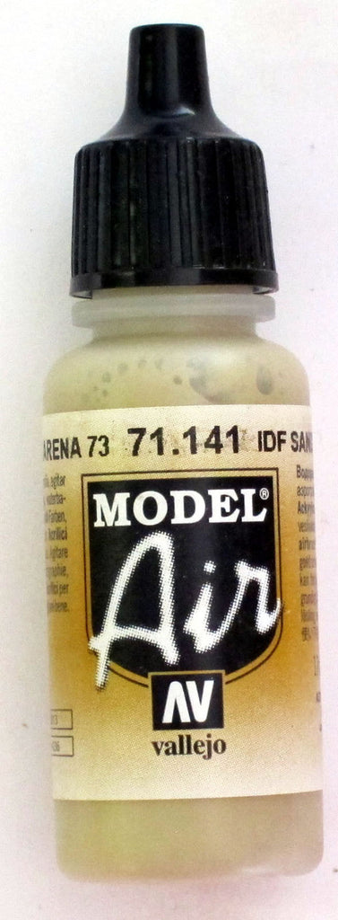 71141 Vallejo Model Airbrush Paint 17 ml IDF Sand Grey