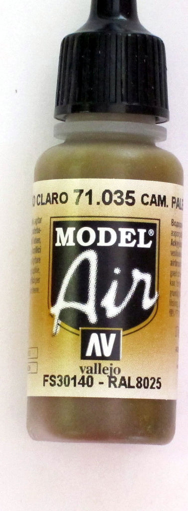 71035 Vallejo Model Airbrush Paint 17 ml Camouflage Light Brown