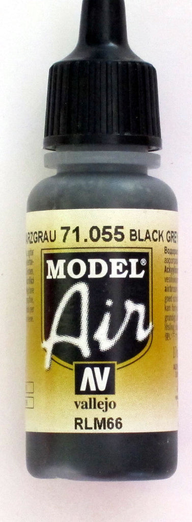 71055 Vallejo Model Airbrush Paint 17 ml Grey Green