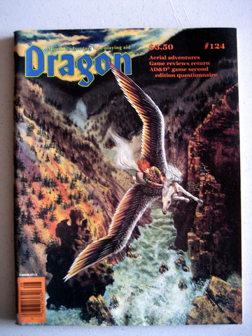Dragon Magazine #124 Vintage VG+