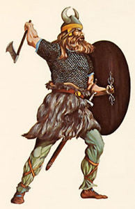 Kit# 9942 - Viking Warrior 850 A.D.