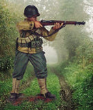 Kit# 9650 - US Infantryman M1 - WWII