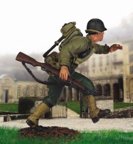 Kit# 9646 - US GI Running WWII