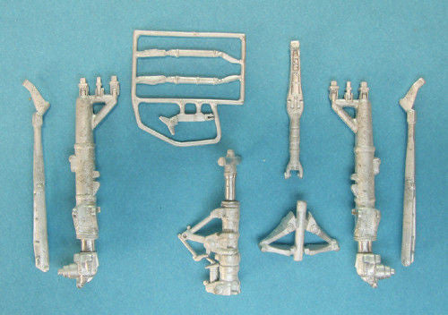 SAC 48253   A-6 Intruder Landing Gear for all 1/48th Scale Hobby Boss A-6 variants