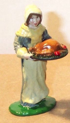 Kit# 9623 - Pilgrim Priscilla Mullens, Thanksgiving