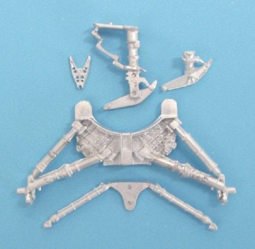 SAC 48158 F-8 Crusader Landing Gear For 1/48th Scale Revell, Monogram Model