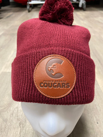 Bar Down Burgundy Toque