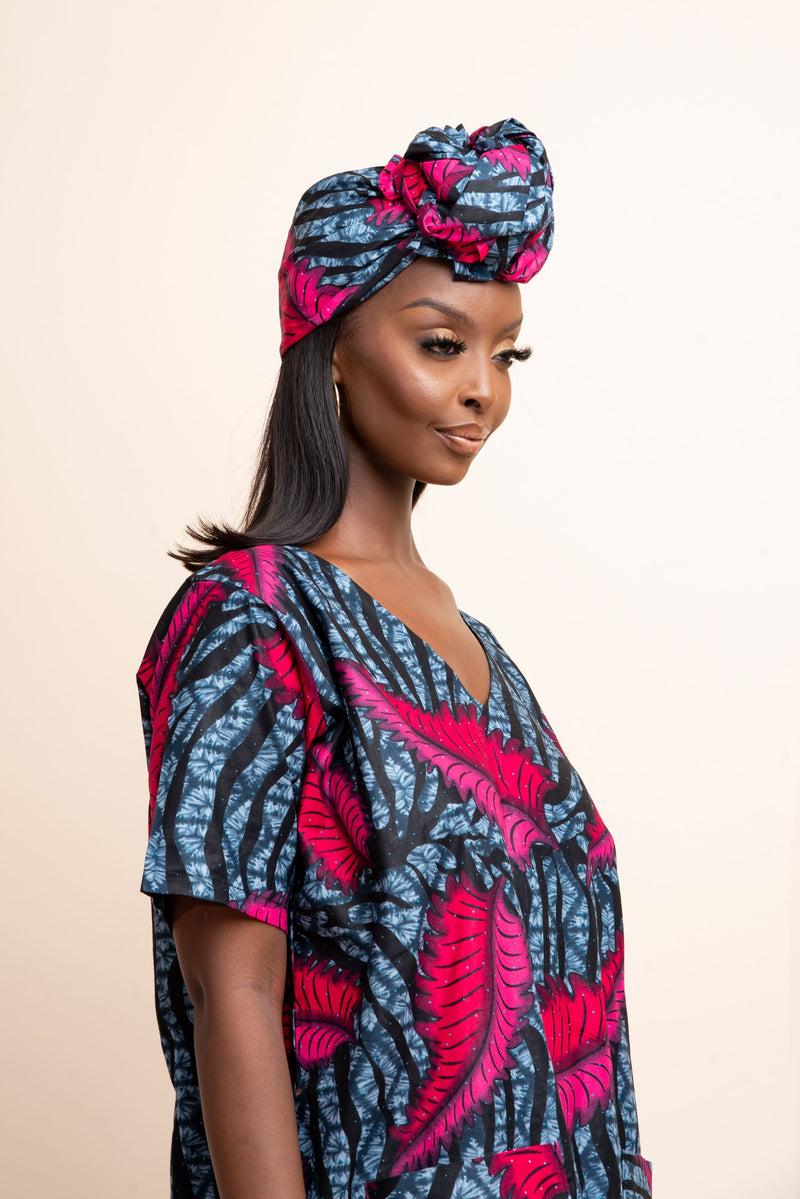 SIKI African Print Headwrap