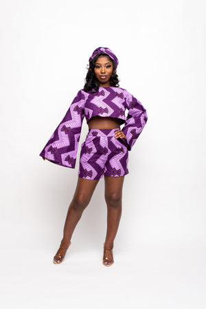 LAYO African Print Mid - Maxi Skirt