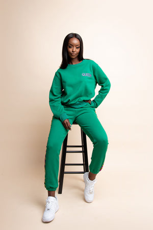 GREEN QUEEN Jogger Set