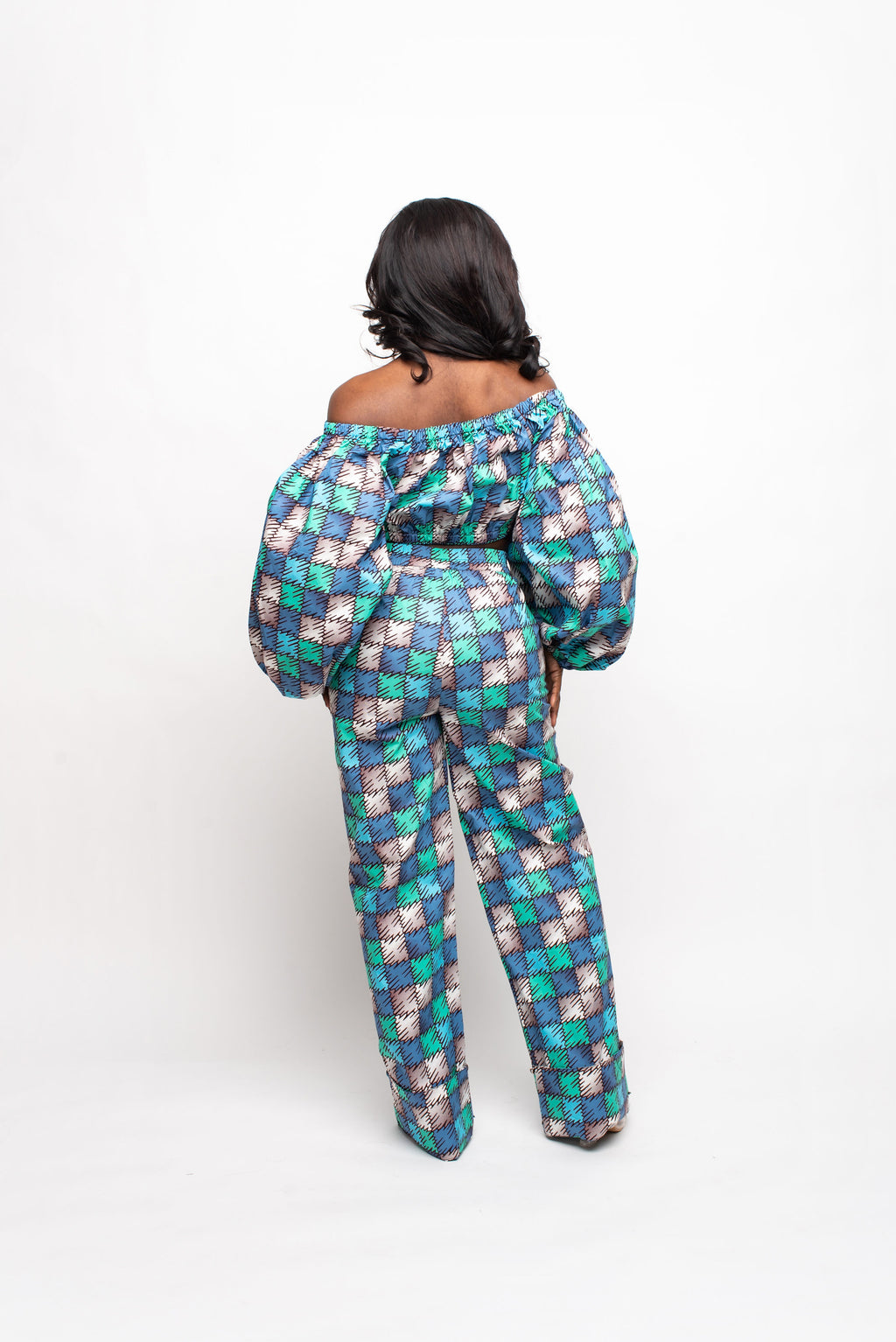 BANKOLE African Print Trench Jacket