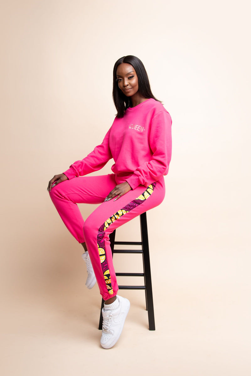 HOT PINK QUEEN Jogger Set