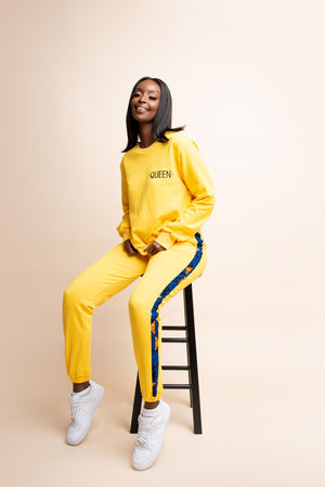 YELLOW QUEEN Jogger Set