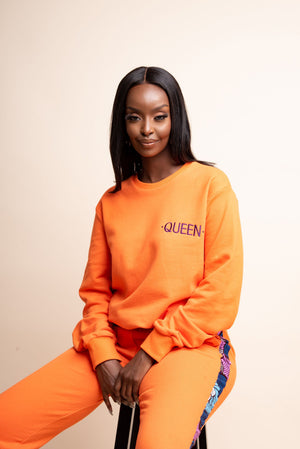ORANGE QUEEN Jogger Set