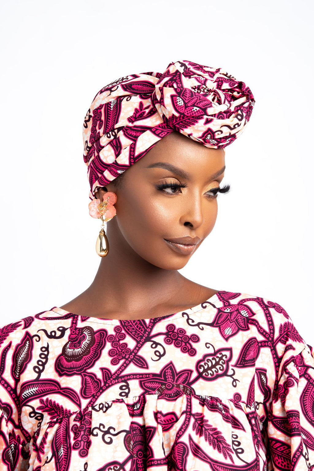 AMARE African print head wrap headwrap ofuure