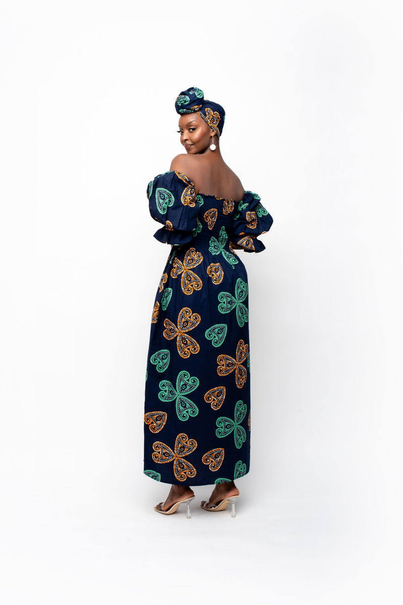 ZULA HI-LOW INFINITY DRESS