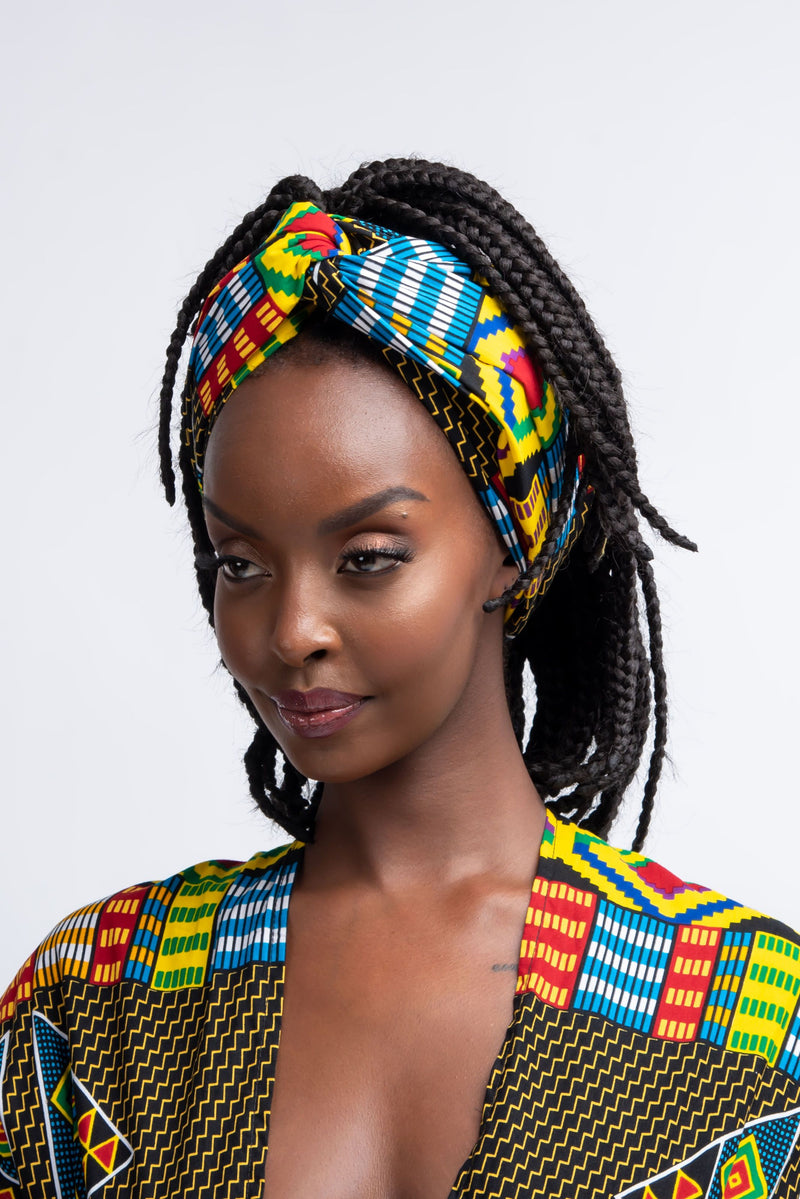 KOFO African Print Headwrap