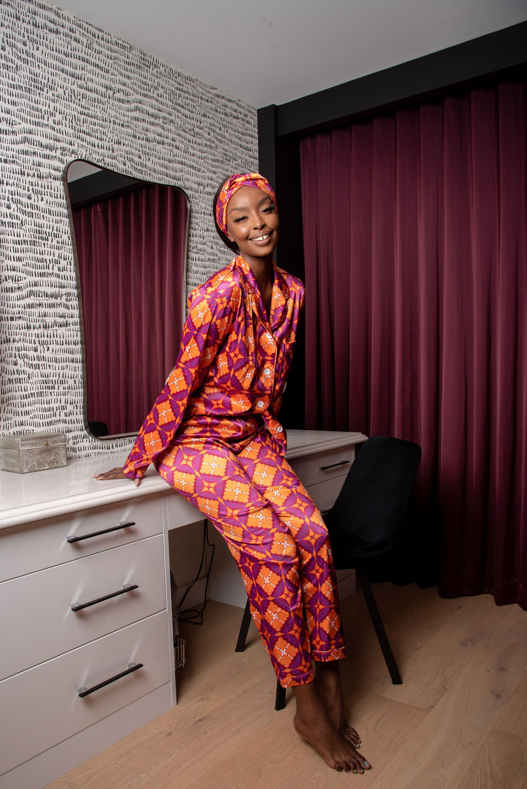 NADIA Pajamas Trouser Set