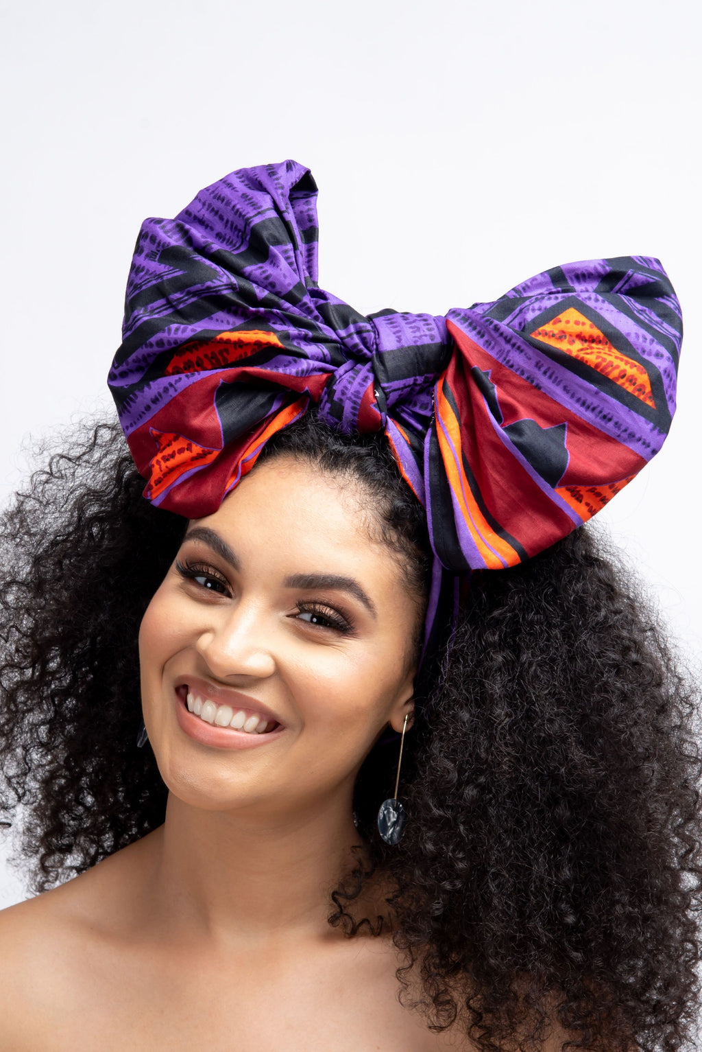 RIRE African Print Headwrap