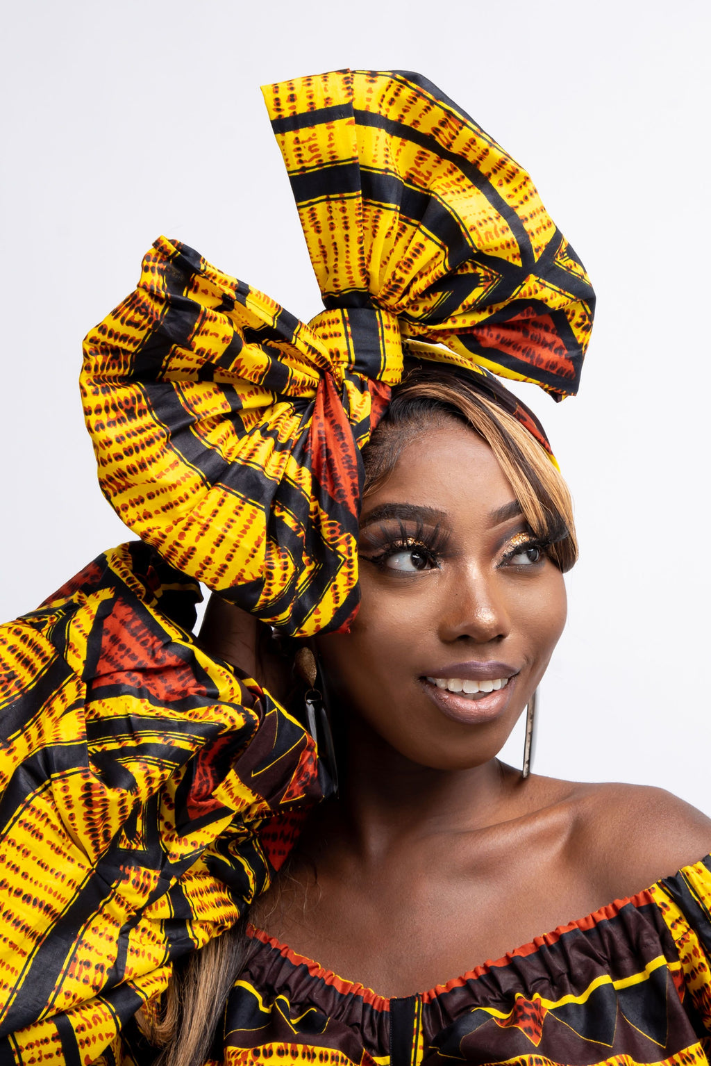TOYO African Print Headwrap