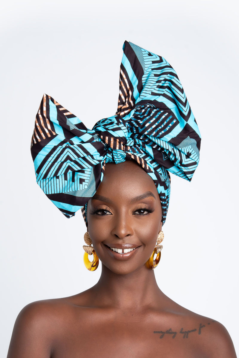 FOLAMI African Print Headwrap headwrap ofuure