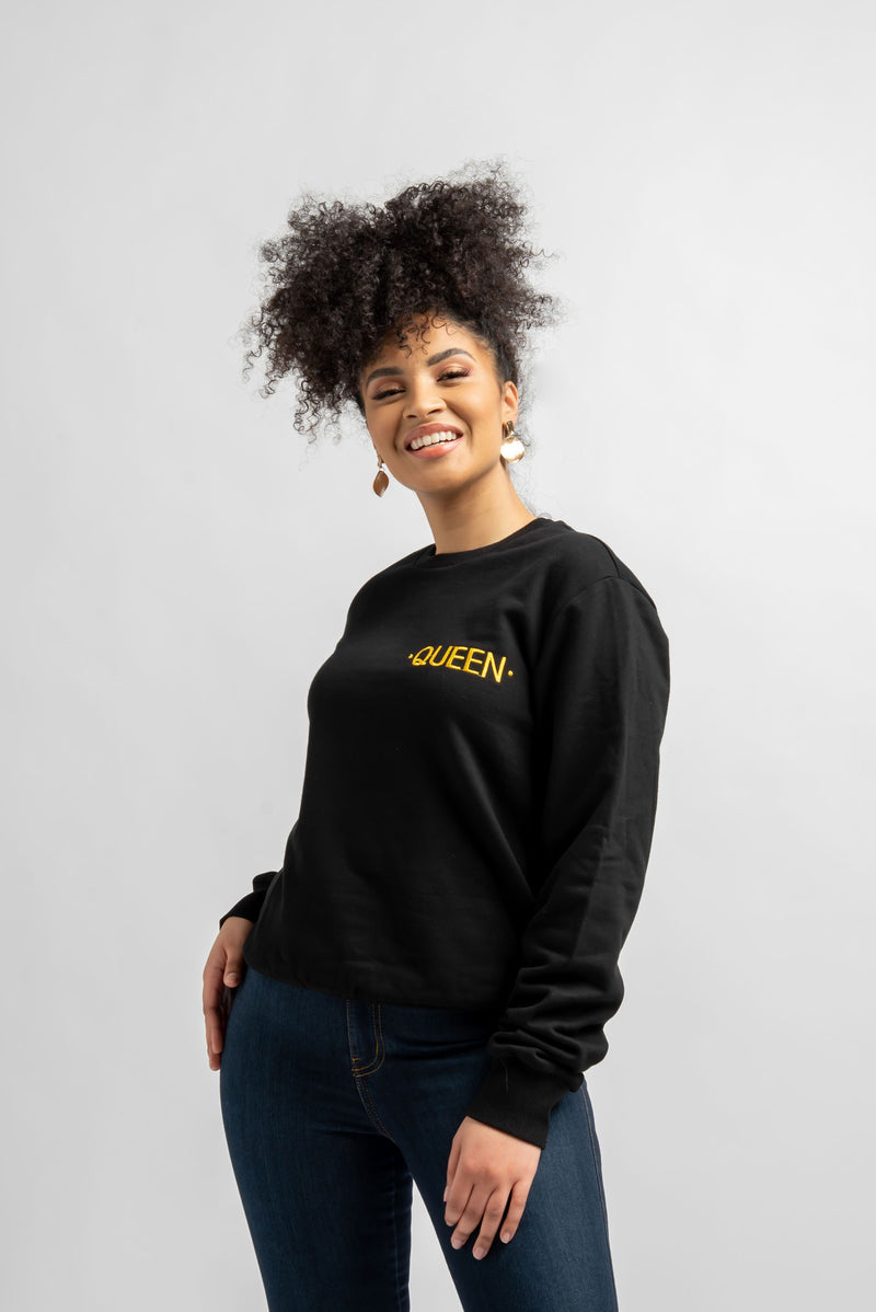 BLACK QUEEN Sweatshirt Tops ofuure