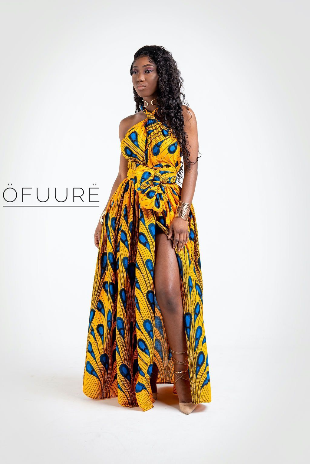 YELLOW BULB Maxi Infinity maxi infinity dress ofuure