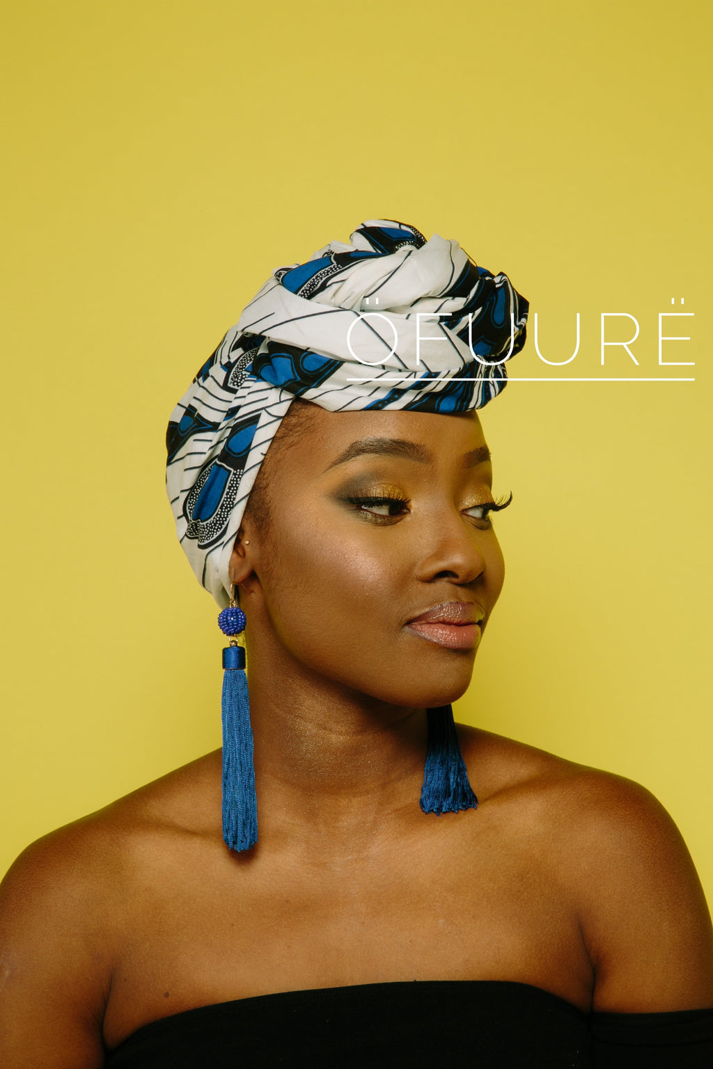 WHITE BULB HEAD WRAP headwrap ofuure