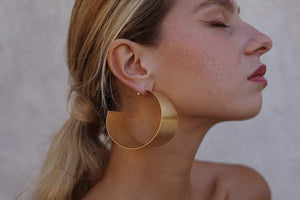 LakaLuka Sculptural Style Earrings