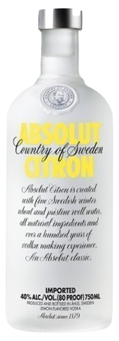 Absolut Citron, 1 Litre