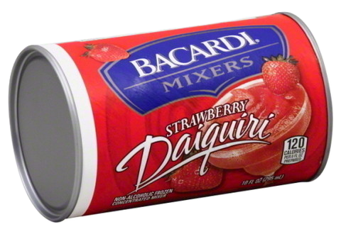 Bacardi Strawberry Daiquiri Mixer, 10oz.