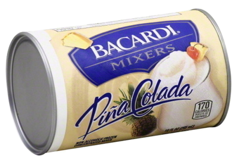 Bacardi Pina Coloda Mixer, 10oz.