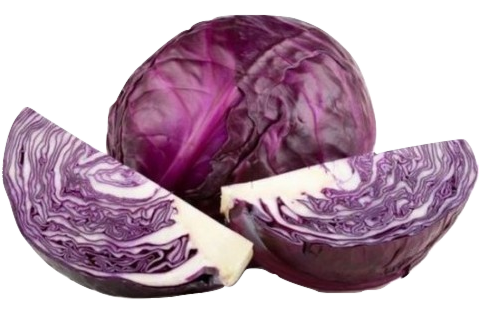Cabbage, Red, 1LB.
