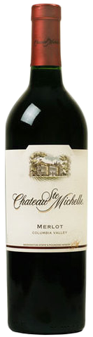 Chateau St. Michelle Merlot, 750ml.