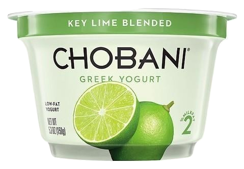 Chobani Key Lime Yogurt