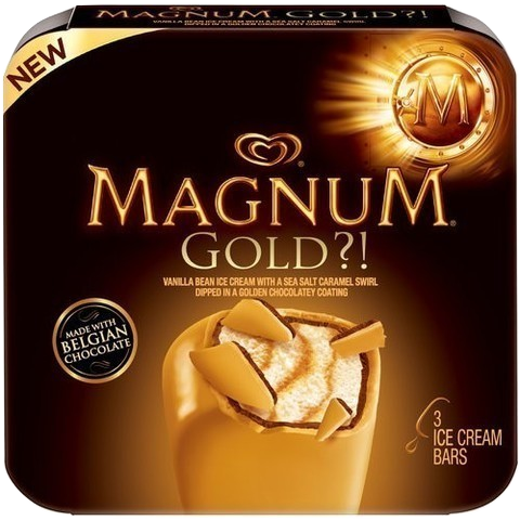 Magnum Ice Cream Bars, 3 Pack