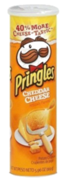 Pringles Cheddar Cheese Potato Crisps