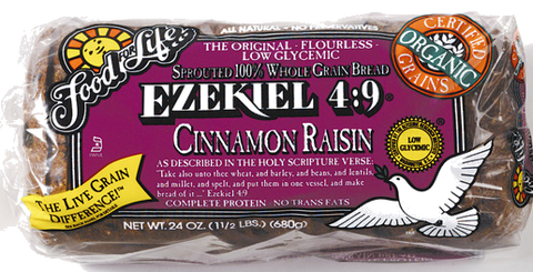 Food For Life Ezekiel 4:9 Cinnamon Raisin