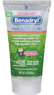 Children's Benadryl Itch Cooling Gel