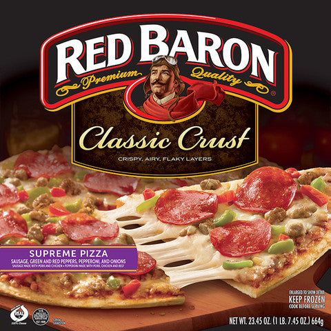 Red Baron Supreme Pizza