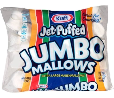 Kraft Jet Puffed Jumbo Mallows