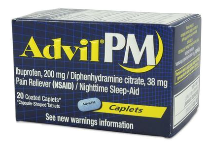 Advil PM Pain Reliever (NSAID)/Fever Reducer