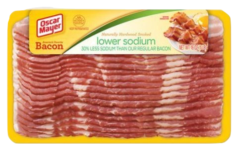 Oscar Mayer Low Sodium Bacon