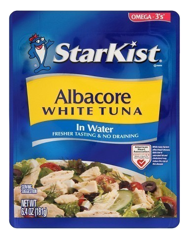 Starkist Albacore White Tuna Package