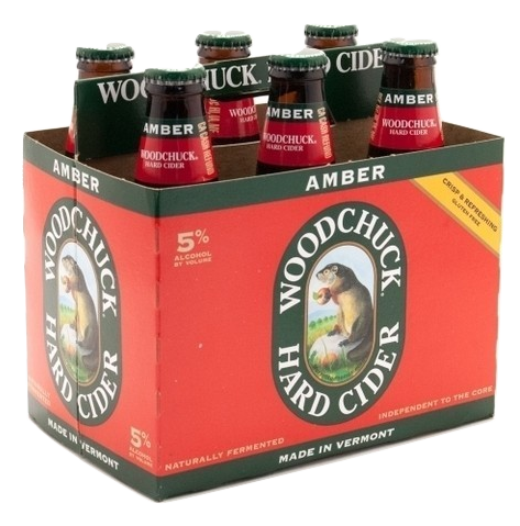Amber Woodchuck Hard Cider Beer