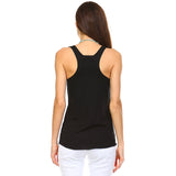 Black Razor Racerback Tank Top - Lady Tank