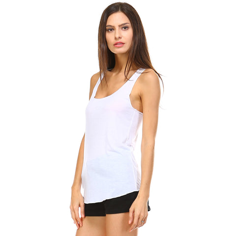 Black Razor Racerback Tank Top